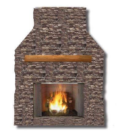 Exterus Outdoor Wood Fireplace